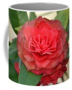 Double Blossom Camelias Coffee Mug