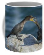 Double-crested Cormorants Coffee Mug