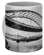 Double Crossing Coffee Mug