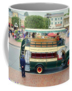 Double Decker Bus Main Street Disneyland 02 Coffee Mug