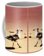 Double Gulls Collage Coffee Mug