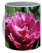 Double Pink Fringe Coffee Mug
