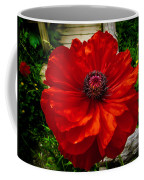 Double Poppy Coffee Mug