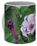 Double Purple Datura 6 Coffee Mug