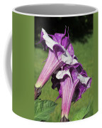 Double Purple Datura 8 Coffee Mug