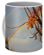 Double Rainbow Coffee Mug