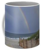 Double Rainbow Beach Seaside Park Nj Coffee Mug