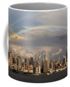 Double Rainbow Over Nyc Coffee Mug
