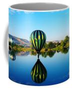 Double Touchdown  Coffee Mug by Jeff Swan