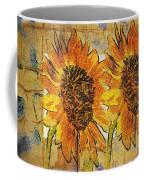 Double Yellowed Coffee Mug