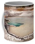 Doublet Pool In Upper Geyser Basin In Yellowstone National Park Coffee Mug
