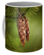 Douglas Fir Cones Coffee Mug