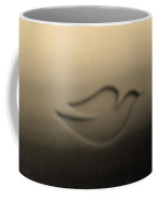 Dove Dark Sepia Coffee Mug