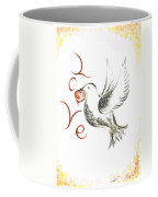 Dove Of Love Coffee Mug
