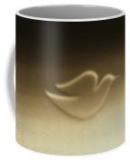 Dove Sepia Coffee Mug