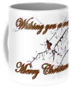 Dove - Snowy Limb - Christmas Card Coffee Mug