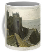 Dover Castle, From A Voyage Around Coffee Mug
