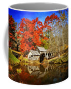 Down By The Old Mill Stream  Coffee Mug by Lynn Bauer