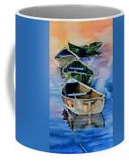 Down East Dories At Dawn Coffee Mug