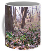 Down Here - Digital Painting Effect Coffee Mug