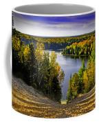 Down Hill Into Fall Coffee Mug