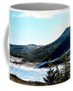 Down In The Valley Triptych Coffee Mug