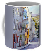 Down The Hill Old Quebec City Coffee Mug
