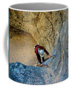 Down The Ladder In Big Painted Canyon Trail In Mecca Hills-ca  Coffee Mug