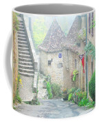 Down The Lane In St Cirq Lapopie Coffee Mug