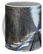 Down The Rails Coffee Mug