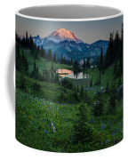 Down The Valley To Rainier Coffee Mug