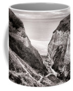 Down To The Sea Coffee Mug by Olivier Le Queinec