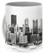 Cold Winter Day In Pittsburgh Pennsylvania Coffee Mug