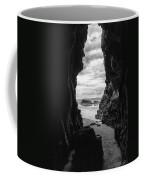 Downhill Cave Coffee Mug