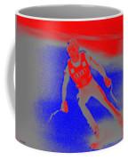 Downhill Skier Coffee Mug