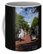 Downtown Annapolis With Maryland State House Cupola Coffee Mug