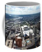 Downtown Cincinnati Form The Top Of Karew Tower Coffee Mug