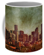 Downtown Denver Antiqued Postcard Coffee Mug
