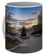 Downtown Ipswich Sunset Coffee Mug