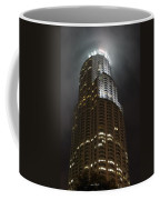 Downtown Los Angeles In The Fog Coffee Mug