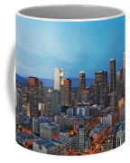 Downtown Los Angeles Coffee Mug by Kelley King