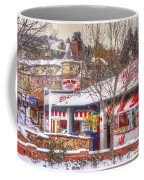Patsy's Candies In Snow Coffee Mug