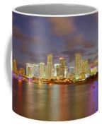 Downtown Miami And Aaa Coffee Mug