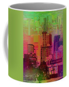 Downtown Seattle Cubed 1 Coffee Mug