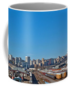 Downtown Tacoma View From The Rail Lines Coffee Mug