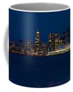 Downtown Vancouver At Night  Coffee Mug
