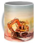Dozer In Watercolor  Coffee Mug