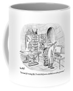Dr. Frankenstein To His Assistant. His Lab Has No Coffee Mug