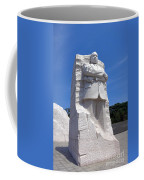 Dr Martin Luther King Memorial Coffee Mug by Olivier Le Queinec