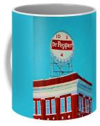 Dr Pepper Sign Roanoke Virginia Coffee Mug